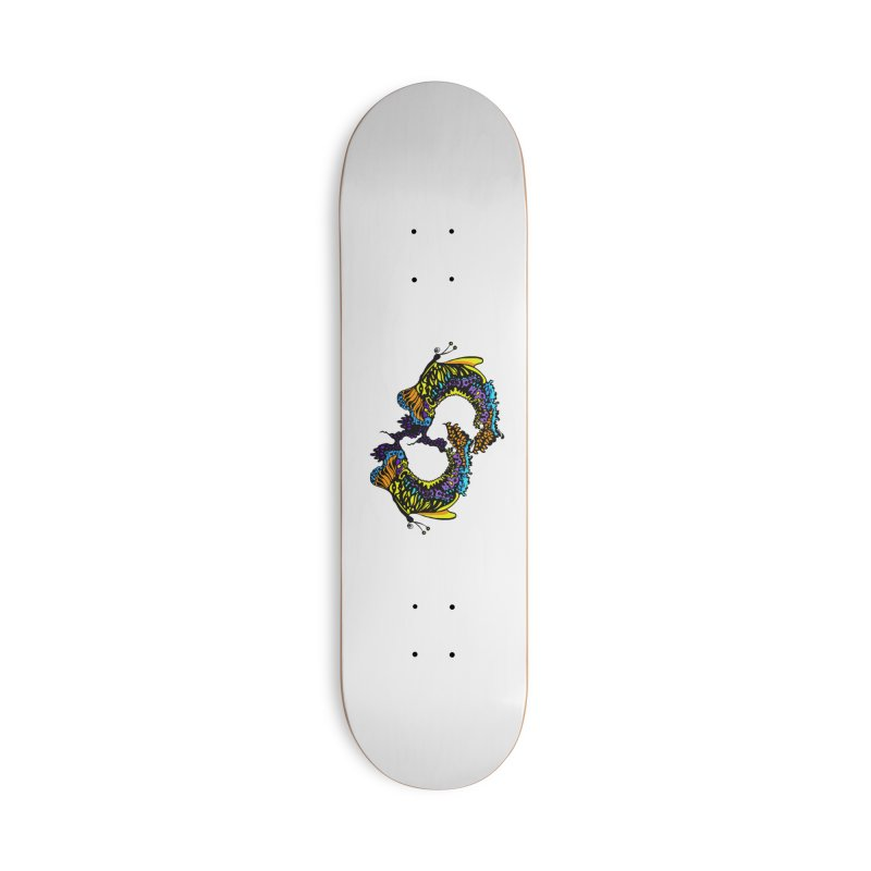 Butterflysplash Accessories Skateboard by jandeangelis's Artist Shop