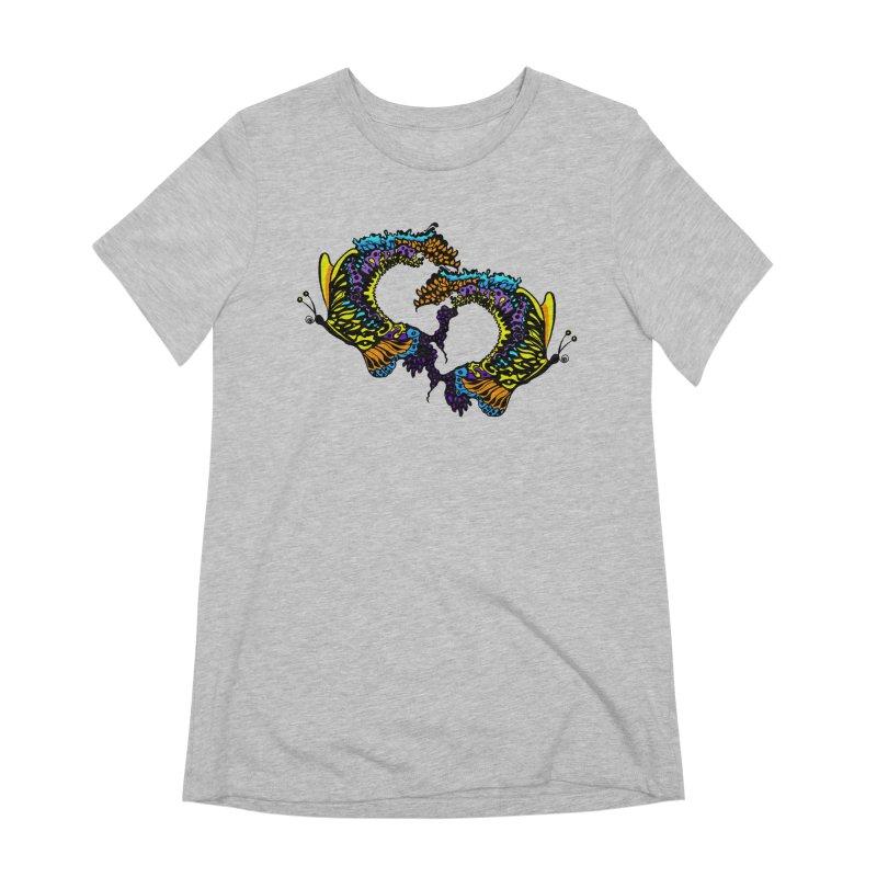 Butterflysplash Women's Extra Soft T-Shirt by jandeangelis's Artist Shop