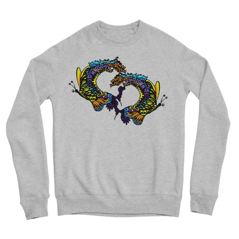 Butterflysplash Women's Sponge Fleece Sweatshirt by jandeangelis's Artist Shop