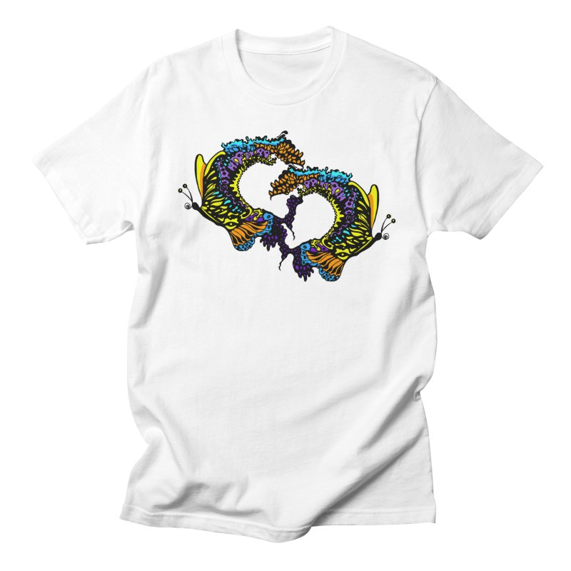 Butterflysplash Men's Regular T-Shirt by jandeangelis's Artist Shop