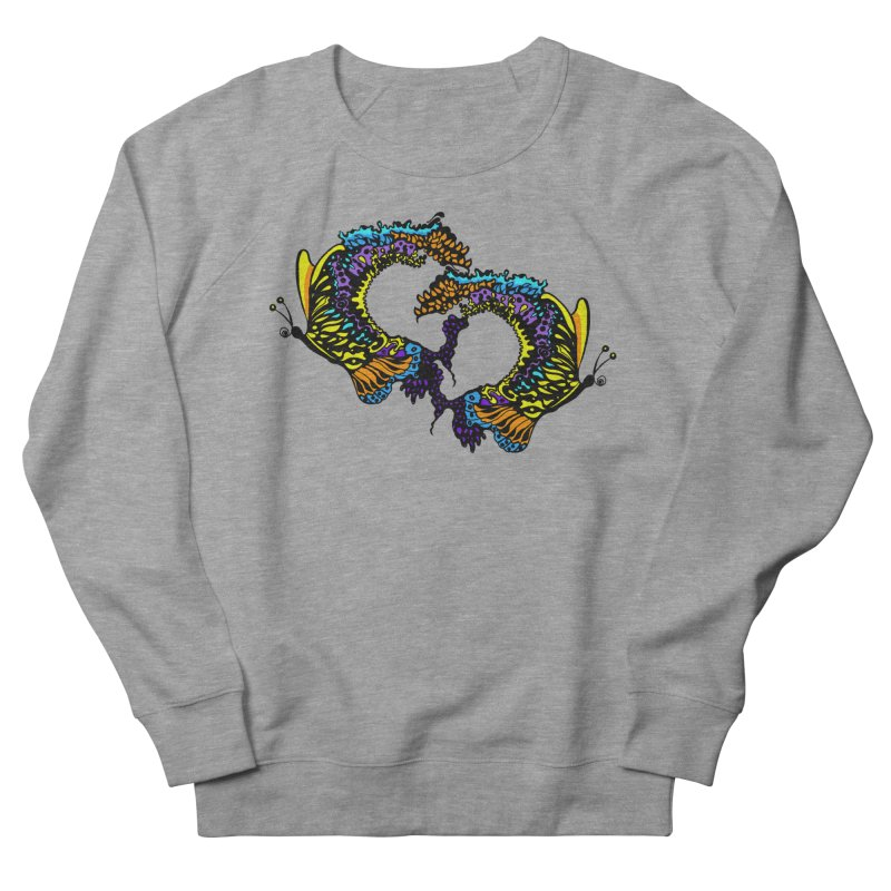 Butterflysplash Women's French Terry Sweatshirt by jandeangelis's Artist Shop