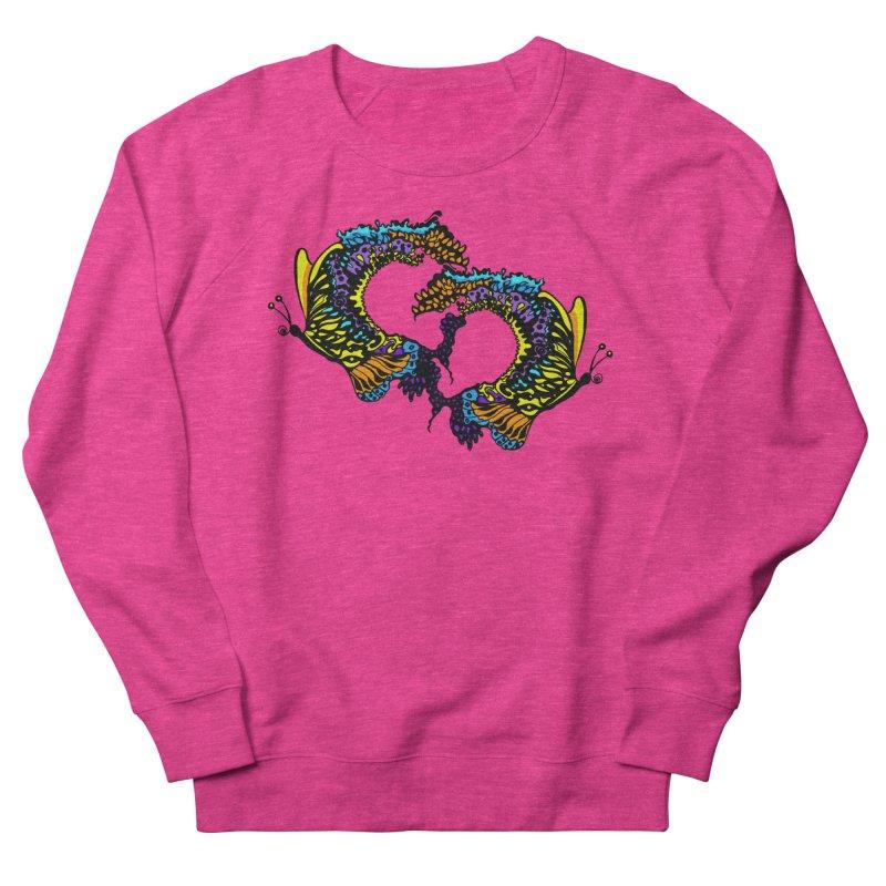 Butterflysplash Women's French Terry Sweatshirt by jandeangelis's Artist Shop