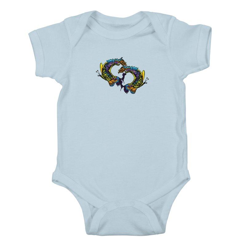 Butterflysplash Kids Baby Bodysuit by jandeangelis's Artist Shop