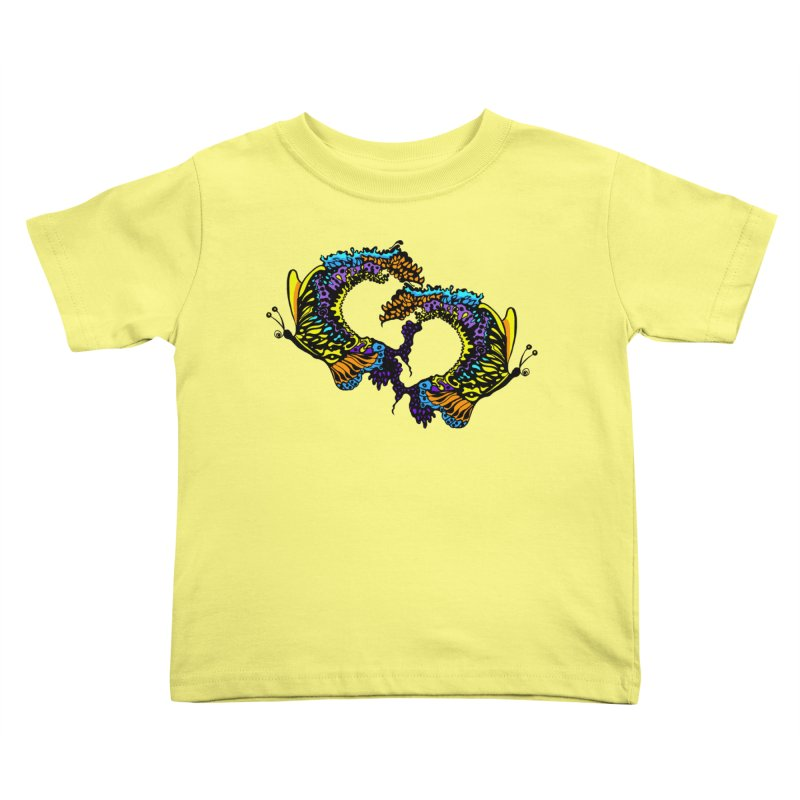 Butterflysplash Kids Toddler T-Shirt by jandeangelis's Artist Shop