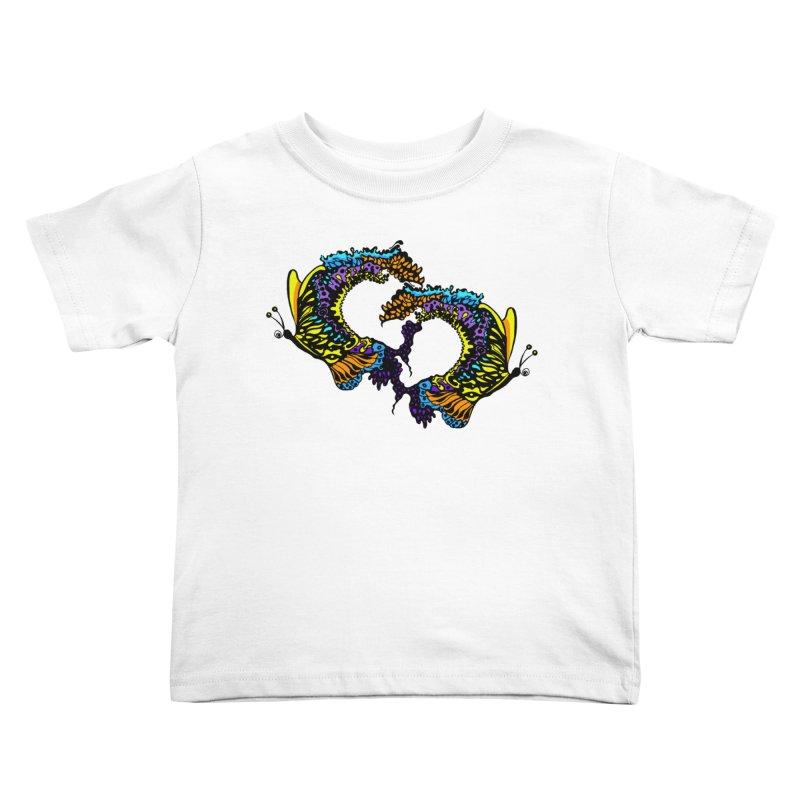 Butterflysplash Kids Toddler T-Shirt by jandeangelis's Artist Shop