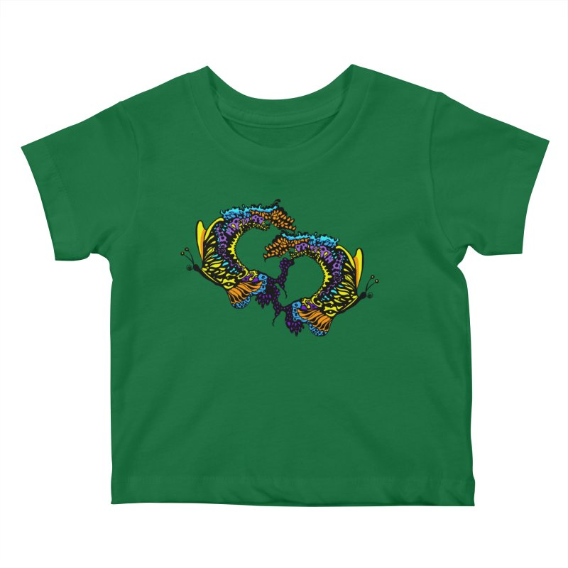 Butterflysplash Kids Baby T-Shirt by jandeangelis's Artist Shop