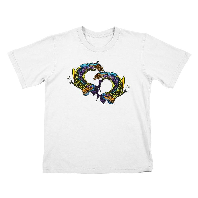 Butterflysplash Kids T-Shirt by jandeangelis's Artist Shop