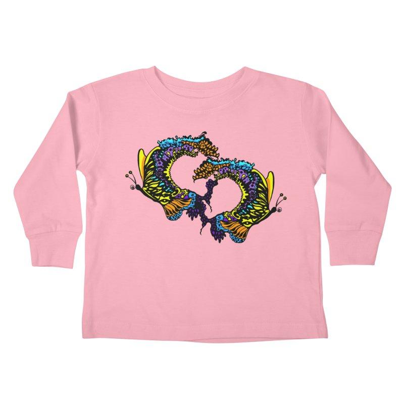 Butterflysplash Kids Toddler Longsleeve T-Shirt by jandeangelis's Artist Shop