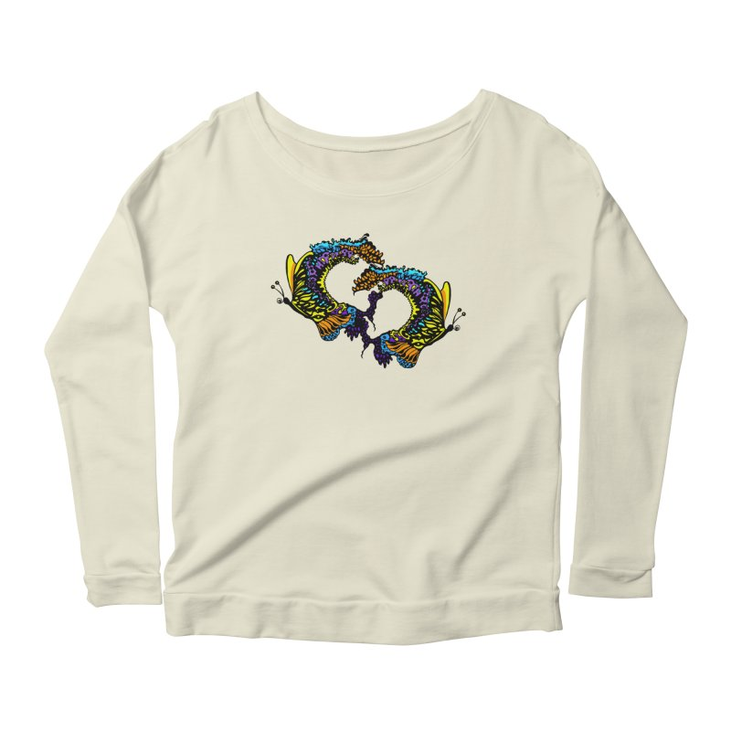 Butterflysplash Women's Scoop Neck Longsleeve T-Shirt by jandeangelis's Artist Shop