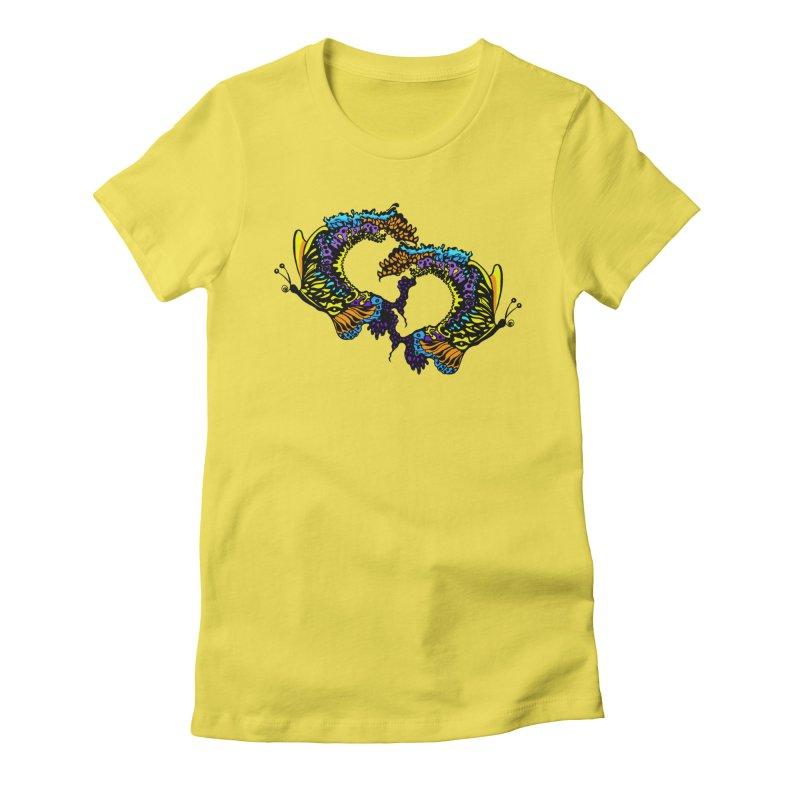 Butterflysplash Women's T-Shirt by jandeangelis's Artist Shop