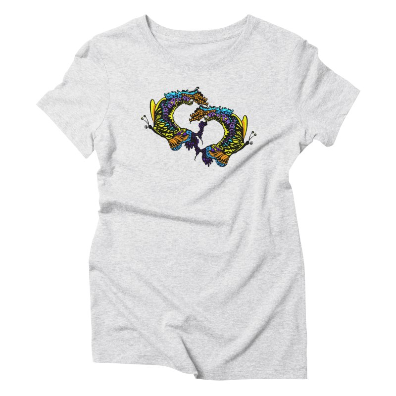Butterflysplash Women's Triblend T-Shirt by jandeangelis's Artist Shop