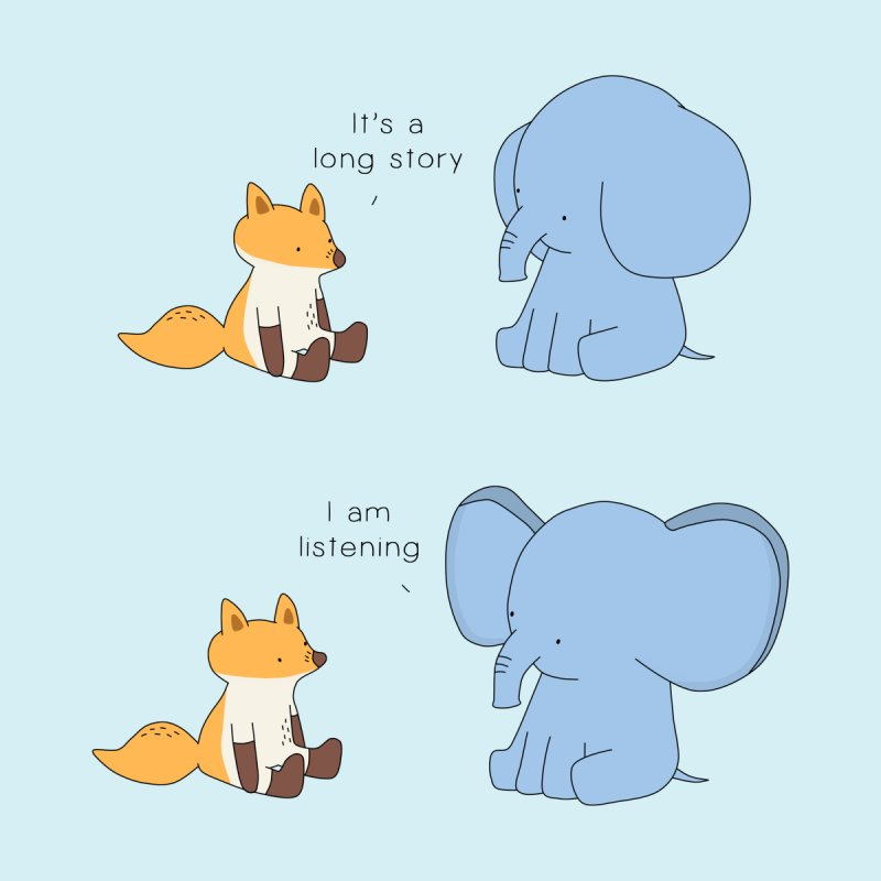 Listening Ears by Jangandfox's Artist Shop