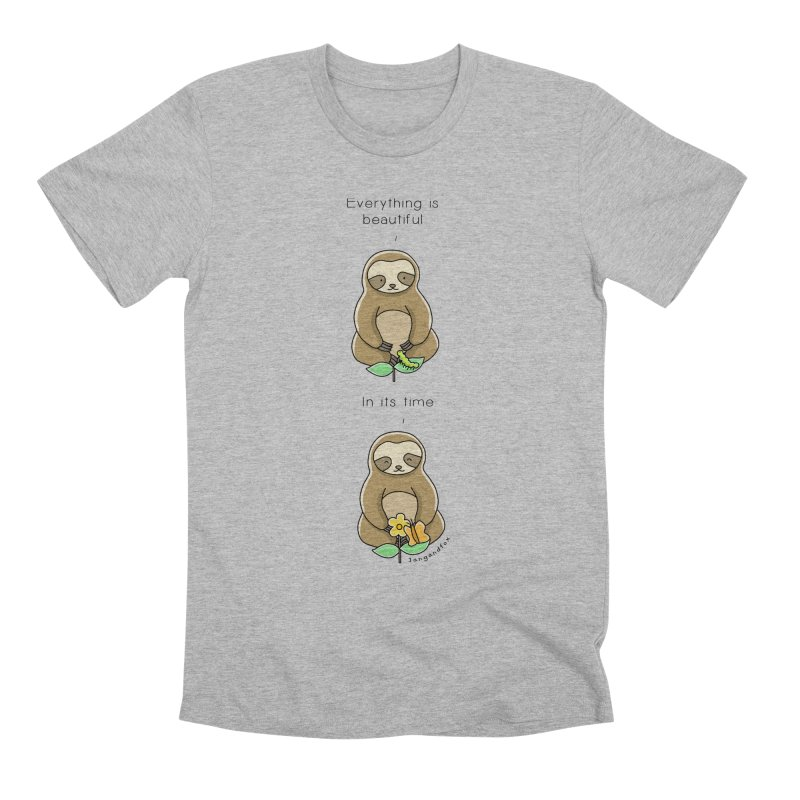 Beautiful in its Time Men's Premium T-Shirt by Jangandfox's Artist Shop