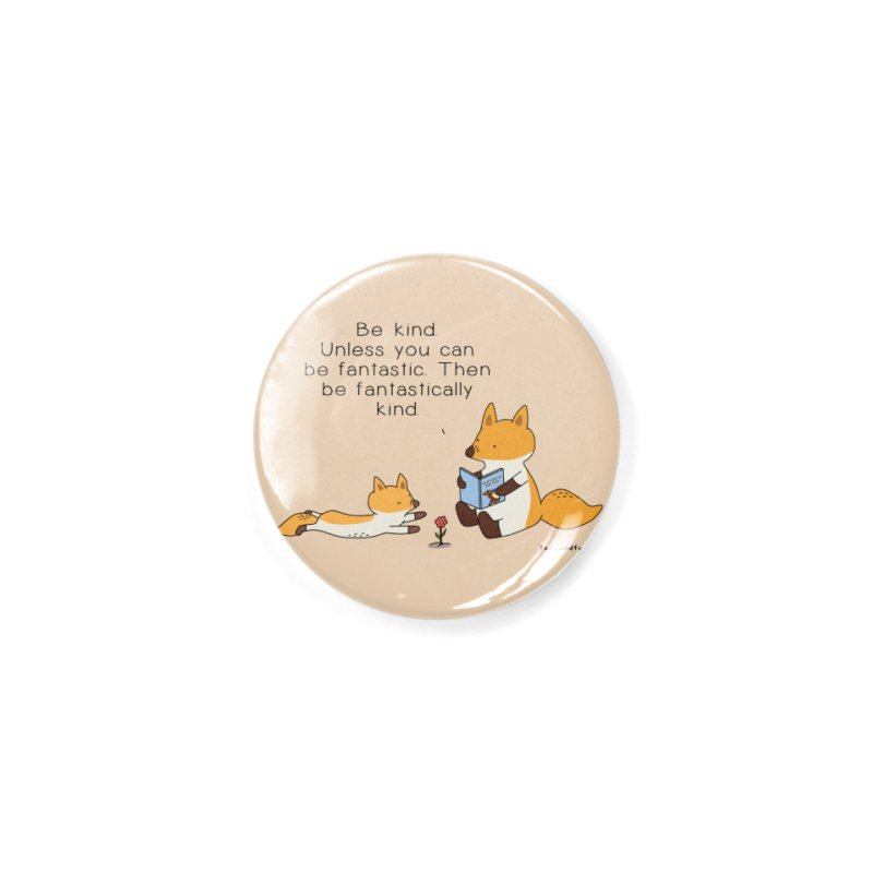 Be Kind Accessories Button by Jangandfox's Artist Shop
