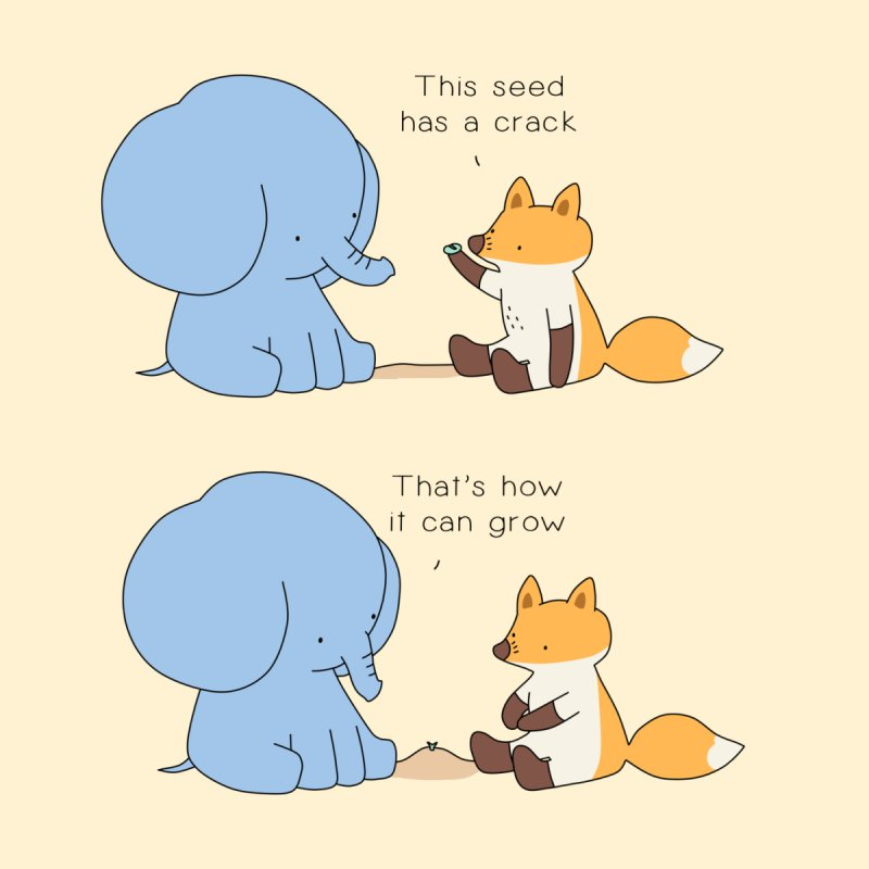 Grow like a Seed by Jangandfox's Artist Shop