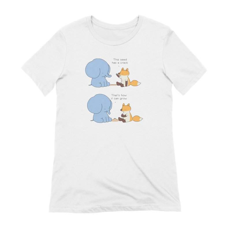 Grow like a Seed Women's T-Shirt by Jangandfox's Artist Shop