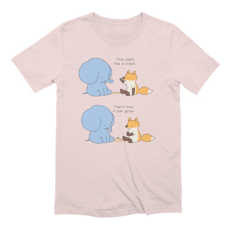 Grow like a Seed Men's Extra Soft T-Shirt by Jangandfox's Artist Shop