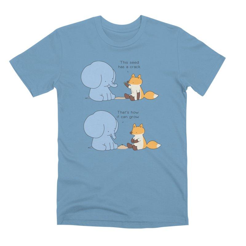 Grow like a Seed Men's T-Shirt by Jangandfox's Artist Shop