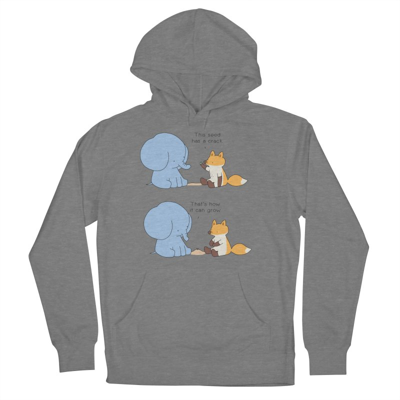 Grow like a Seed Women's French Terry Pullover Hoody by Jangandfox's Artist Shop