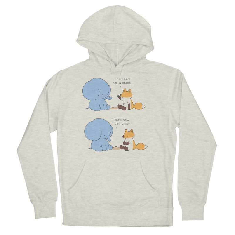 Grow like a Seed Men's French Terry Pullover Hoody by Jangandfox's Artist Shop