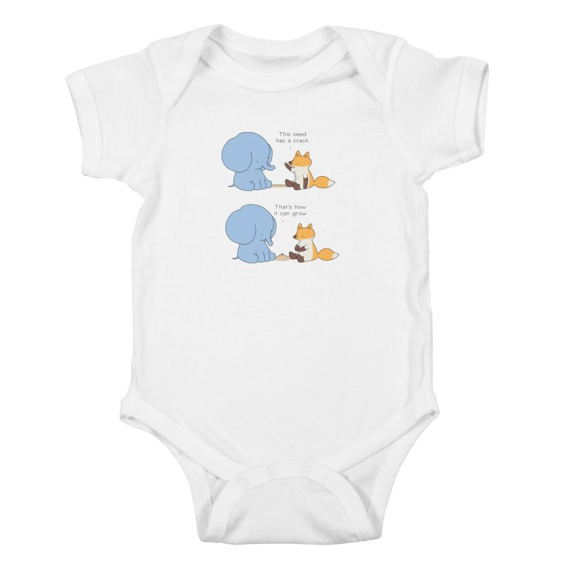 Grow like a Seed Kids Baby Bodysuit by Jangandfox's Artist Shop