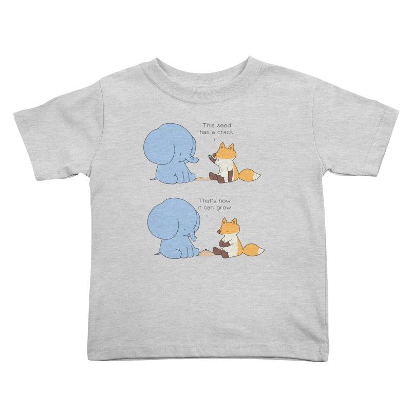 Grow like a Seed Kids Toddler T-Shirt by Jangandfox's Artist Shop