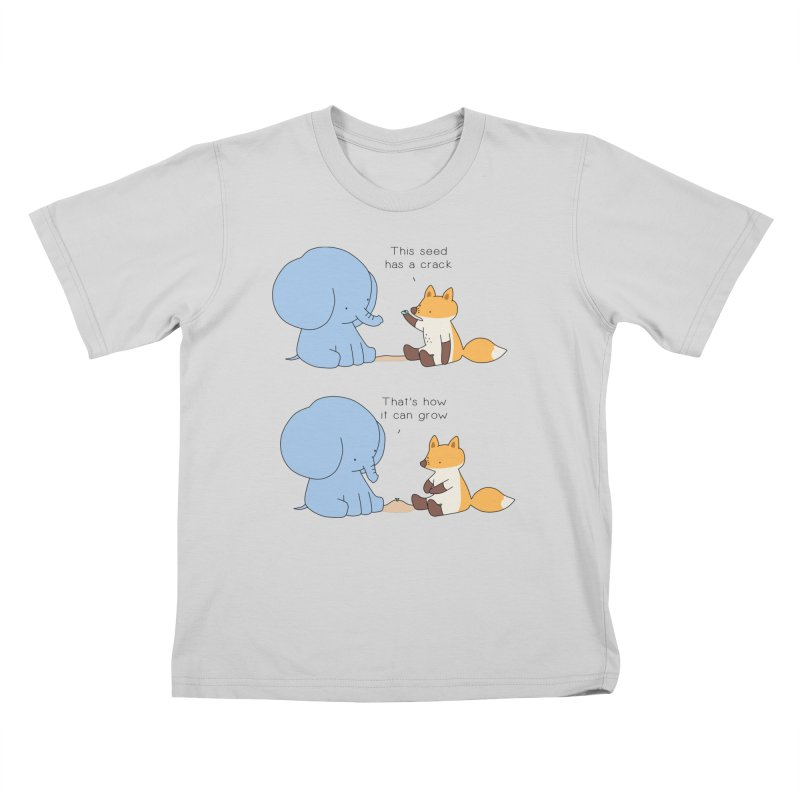Grow like a Seed Kids T-Shirt by Jangandfox's Artist Shop