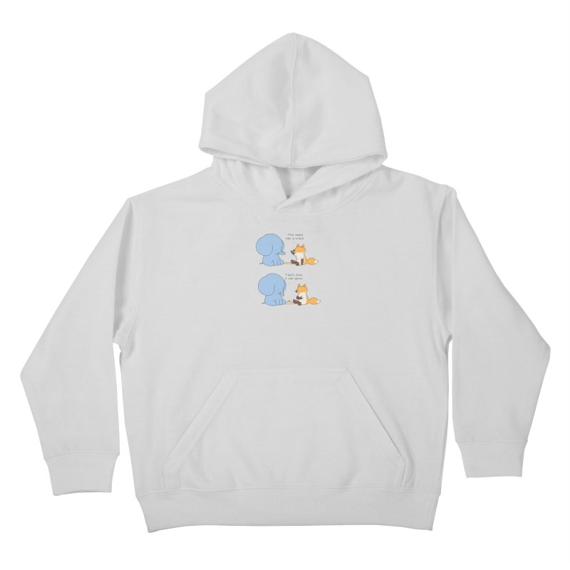 Grow like a Seed Kids Pullover Hoody by Jangandfox's Artist Shop