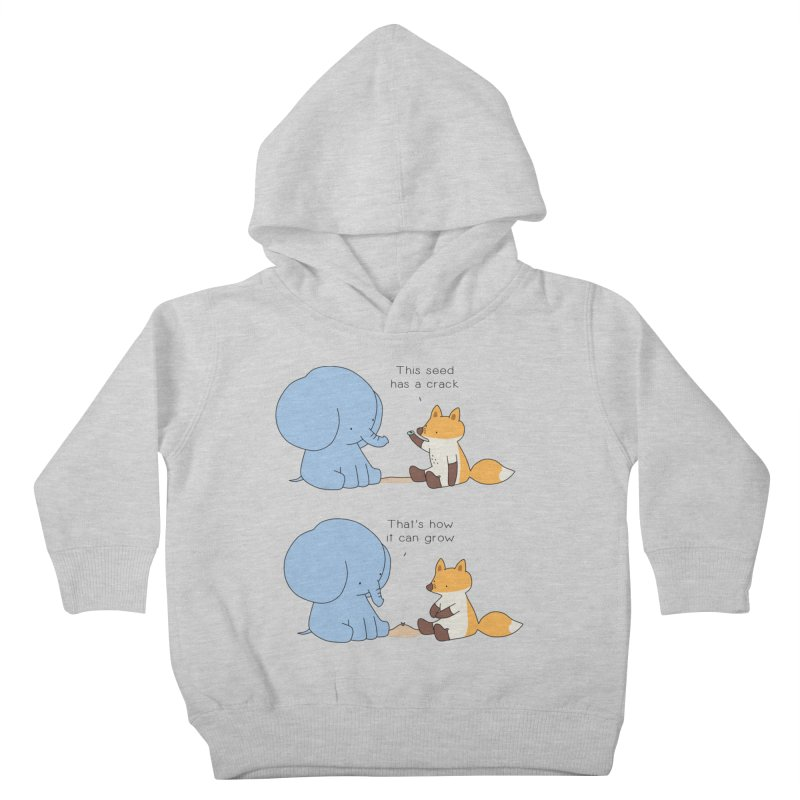 Grow like a Seed Kids Toddler Pullover Hoody by Jangandfox's Artist Shop