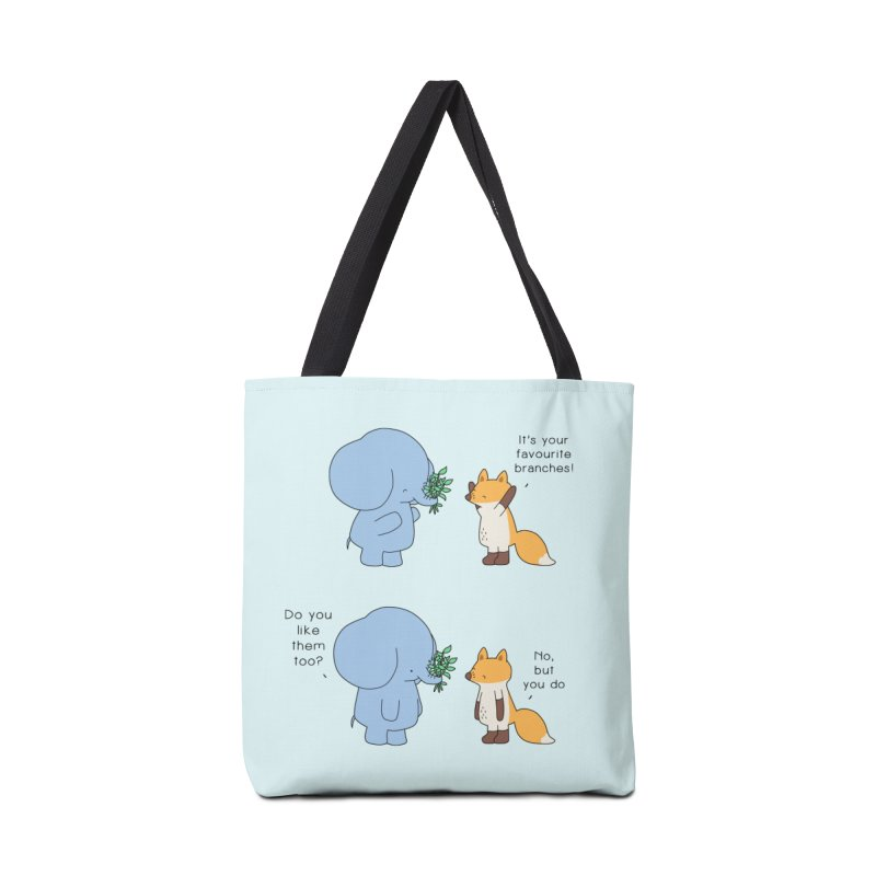 I Share Your Happiness Accessories Tote Bag Bag by Jangandfox's Artist Shop