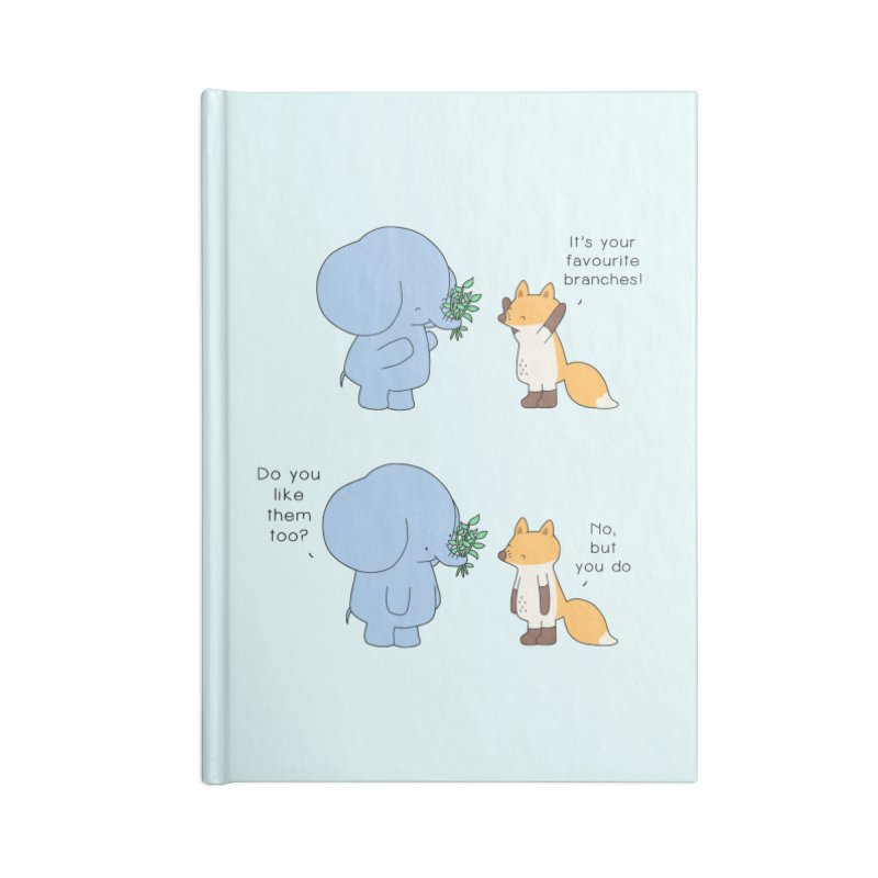 I Share Your Happiness Accessories Notebook by Jangandfox's Artist Shop