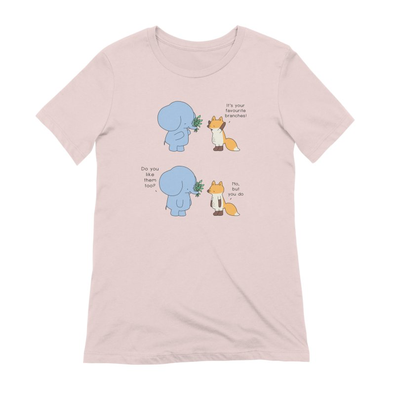 I Share Your Happiness Women's Extra Soft T-Shirt by Jangandfox's Artist Shop