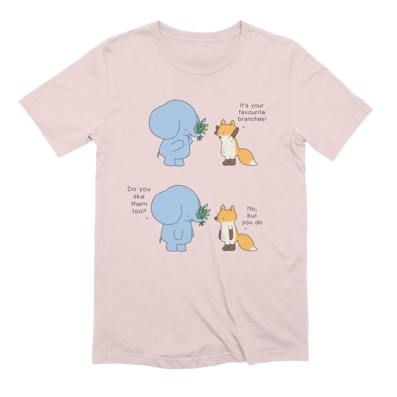I Share Your Happiness Men's Extra Soft T-Shirt by Jangandfox's Artist Shop