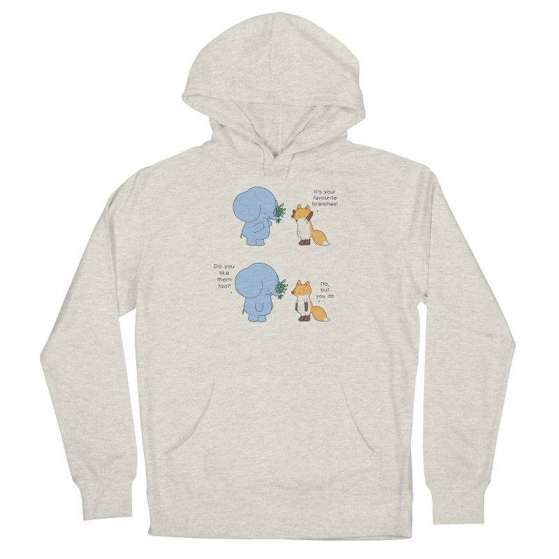 I Share Your Happiness Men's Pullover Hoody by Jangandfox's Artist Shop
