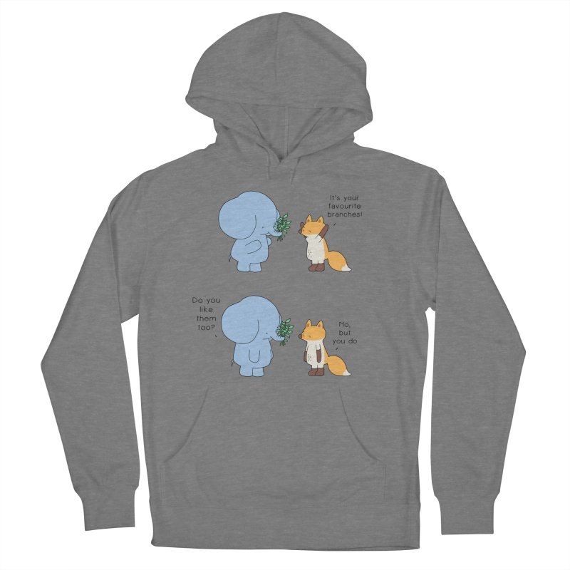 I Share Your Happiness Men's French Terry Pullover Hoody by Jangandfox's Artist Shop