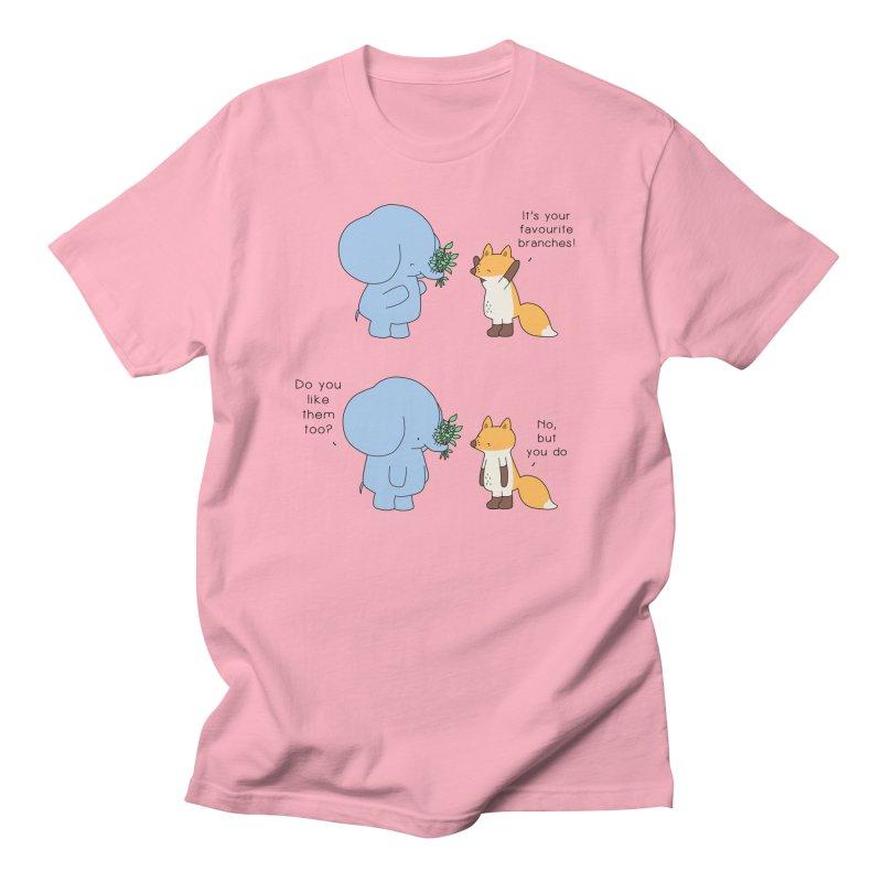 I Share Your Happiness Men's Regular T-Shirt by Jangandfox's Artist Shop