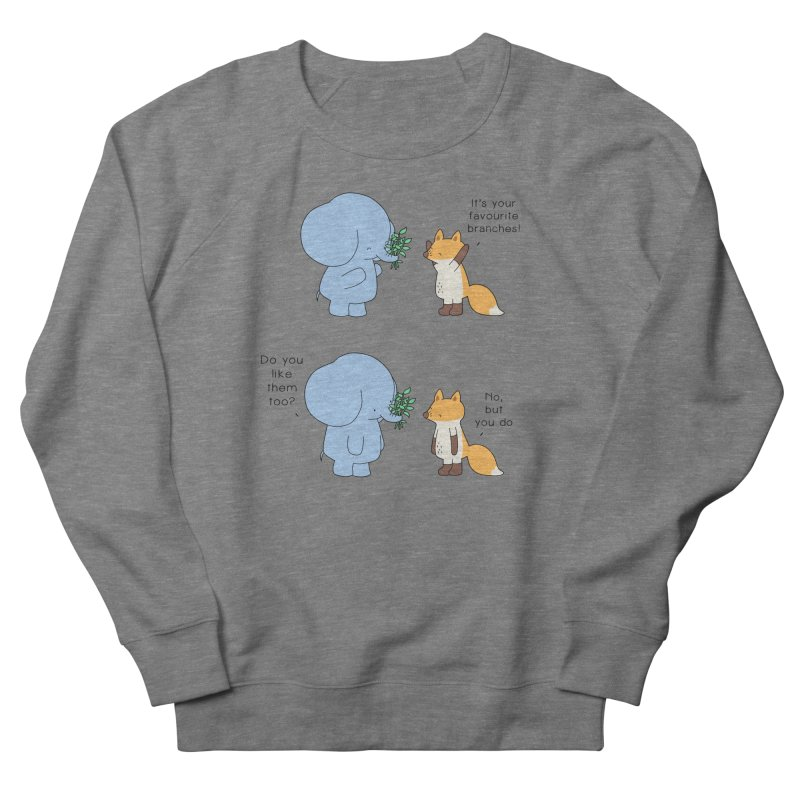 I Share Your Happiness Women's French Terry Sweatshirt by Jangandfox's Artist Shop