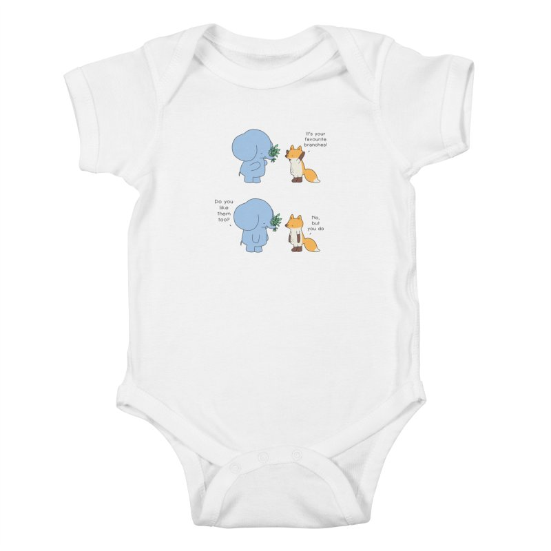 I Share Your Happiness Kids Baby Bodysuit by Jangandfox's Artist Shop