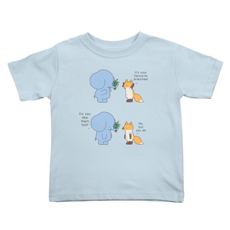 I Share Your Happiness Kids Toddler T-Shirt by Jangandfox's Artist Shop