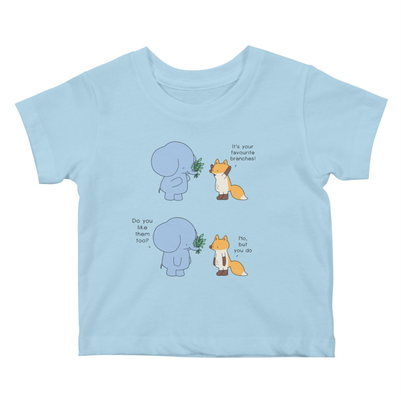 I Share Your Happiness Kids Baby T-Shirt by Jangandfox's Artist Shop