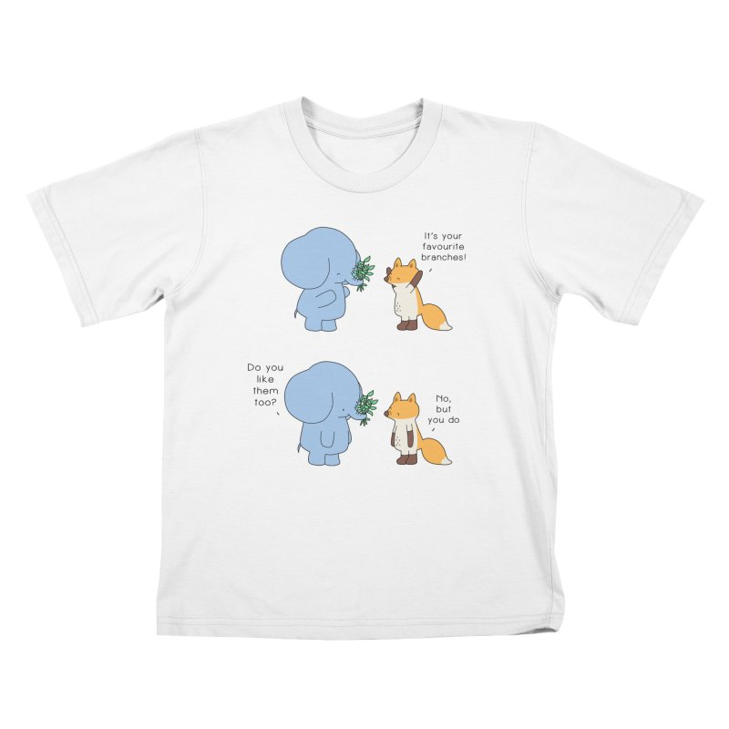I Share Your Happiness Kids T-Shirt by Jangandfox's Artist Shop