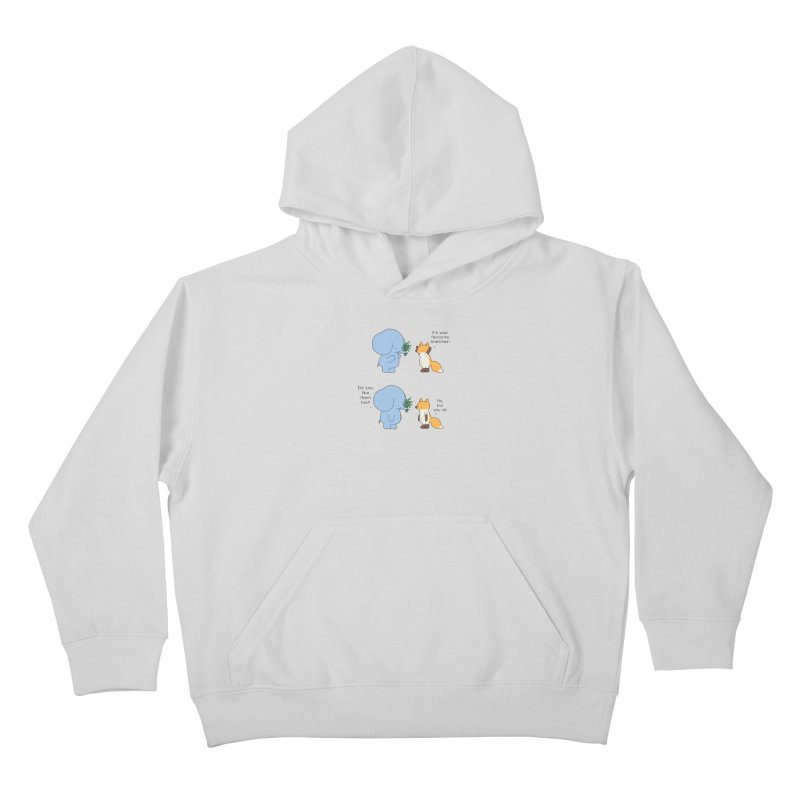 I Share Your Happiness Kids Pullover Hoody by Jangandfox's Artist Shop