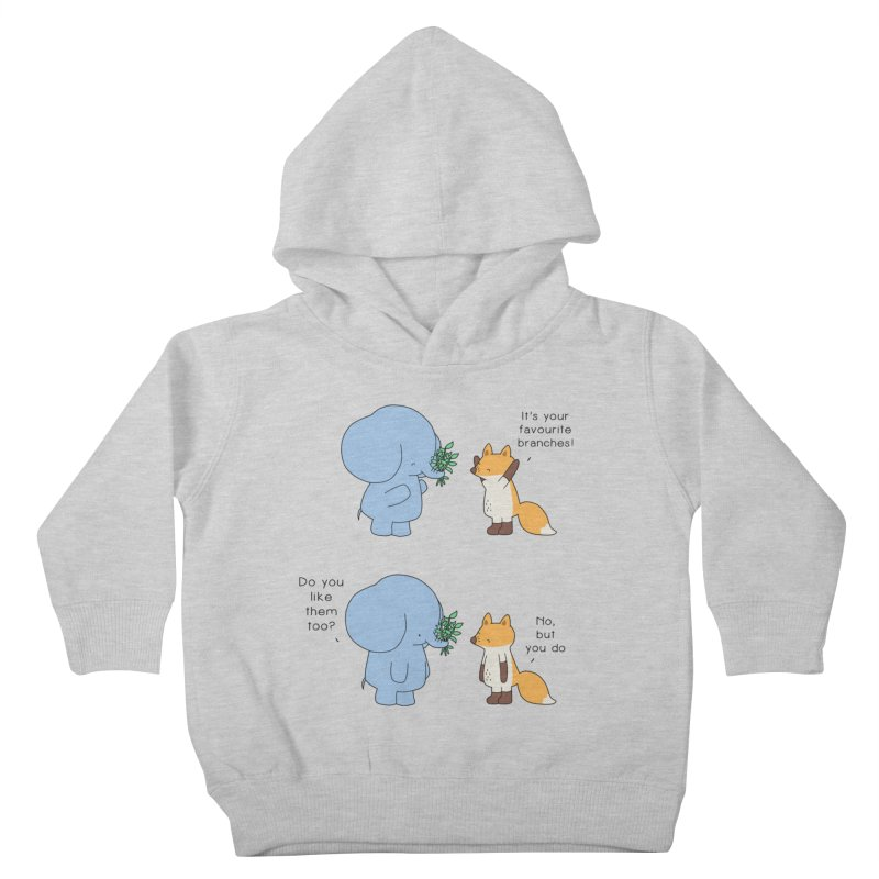 I Share Your Happiness Kids Toddler Pullover Hoody by Jangandfox's Artist Shop