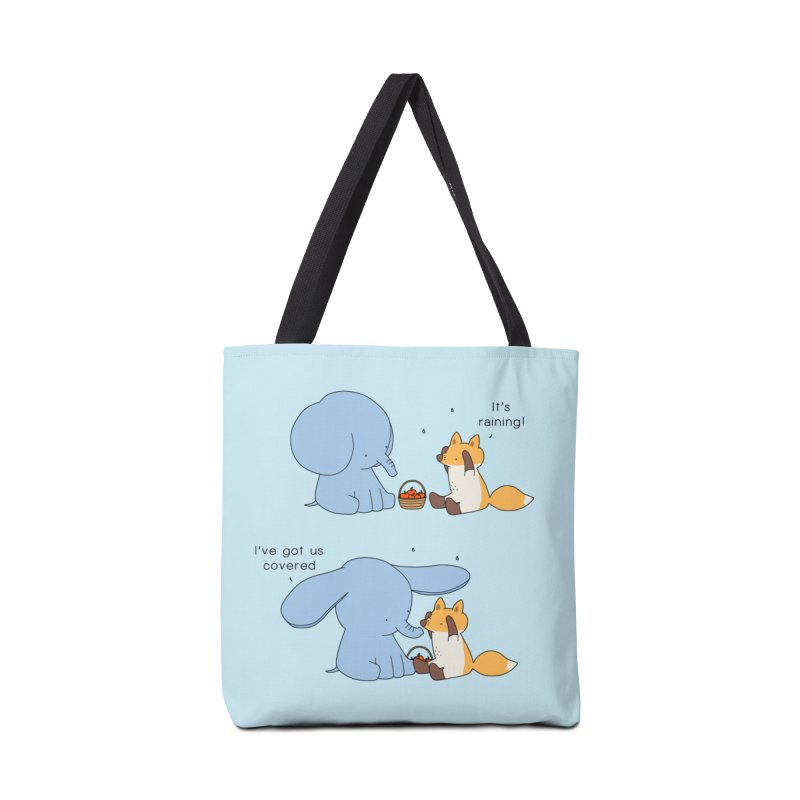 Got Us Covered Accessories Tote Bag Bag by Jangandfox's Artist Shop