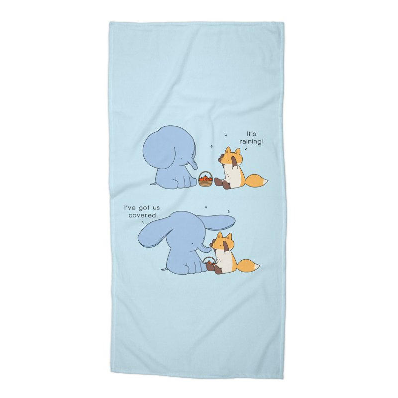 Got Us Covered Accessories Beach Towel by Jangandfox's Artist Shop