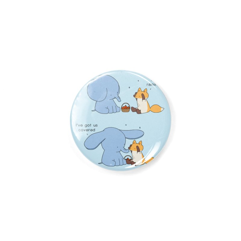 Got Us Covered Accessories Button by Jangandfox's Artist Shop