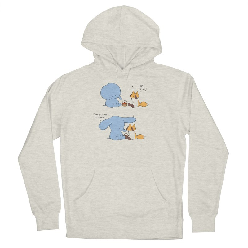 Got Us Covered Women's French Terry Pullover Hoody by Jangandfox's Artist Shop