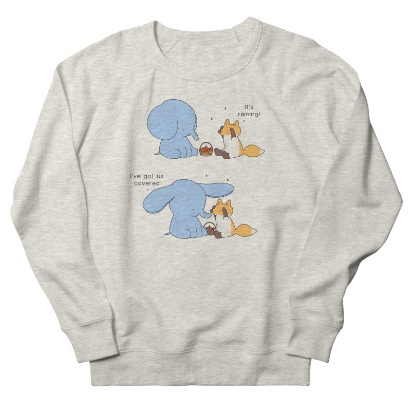 Got Us Covered Men's Sweatshirt by Jangandfox's Artist Shop