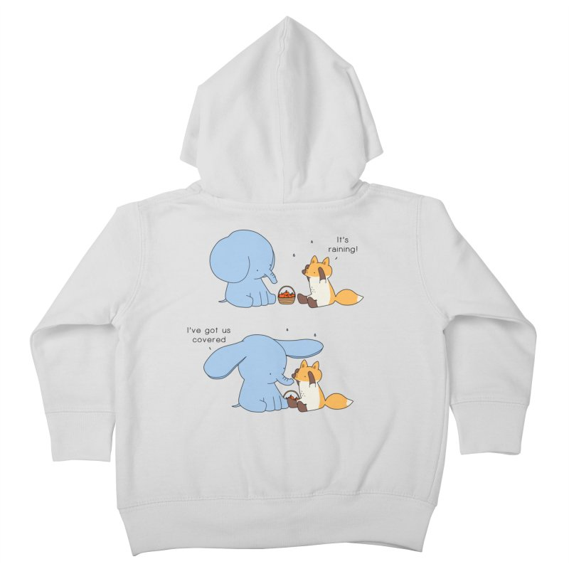 Got Us Covered Kids Toddler Zip-Up Hoody by Jangandfox's Artist Shop