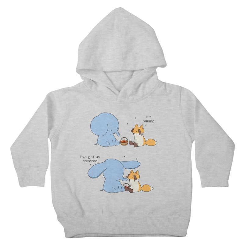 Got Us Covered Kids Toddler Pullover Hoody by Jangandfox's Artist Shop